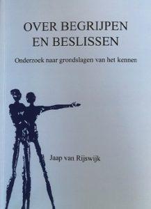 Boek 'Over begrijpen en beslissen'